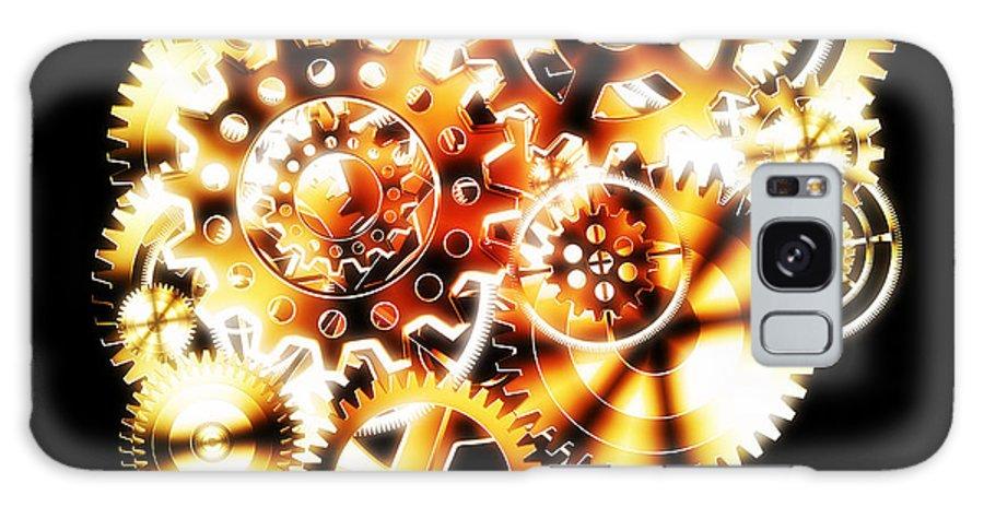 Art Galaxy S8 Case featuring the photograph Gears Wheels Design by Setsiri Silapasuwanchai