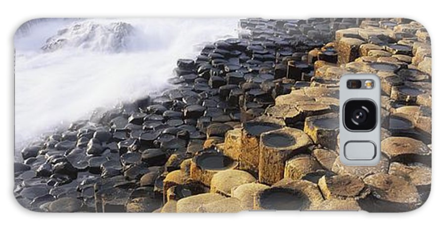 Co Antrim Galaxy S8 Case featuring the photograph Giants Causeway, Co Antrim, Ireland by The Irish Image Collection
