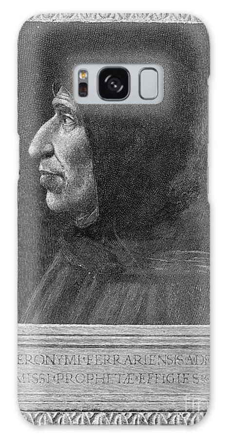 15th Century Galaxy S8 Case featuring the photograph Girolamo Savonarola by Granger