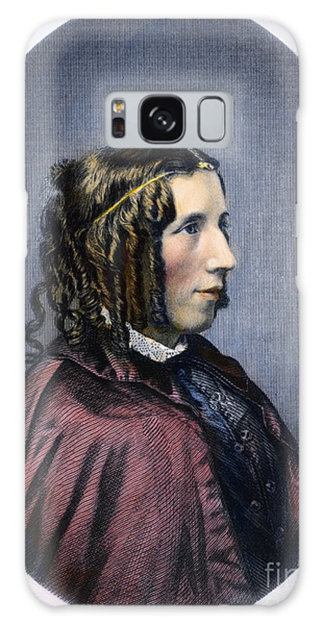1853 Galaxy S8 Case featuring the photograph Harriet Beecher Stowe by Granger