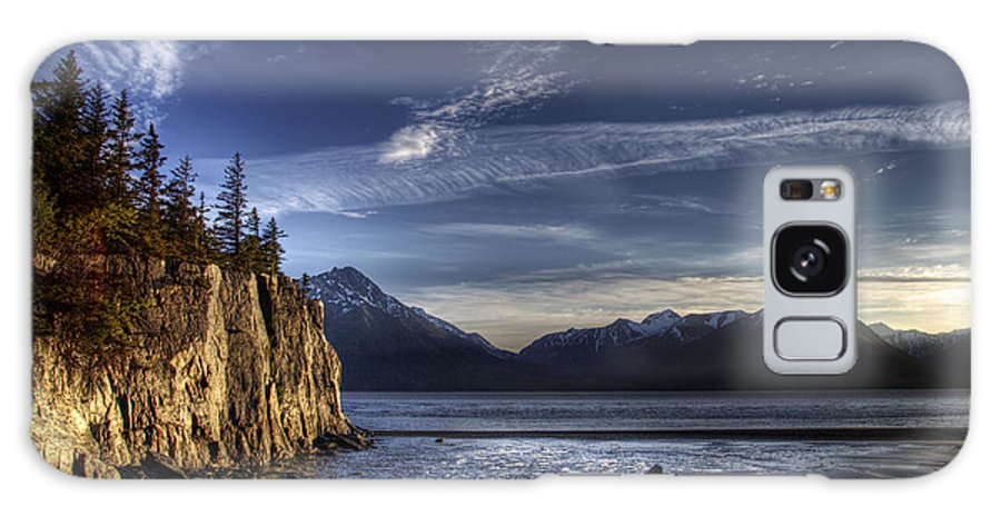 Turnagain Arm Galaxy S8 Case featuring the photograph Low Tide by Michele Cornelius
