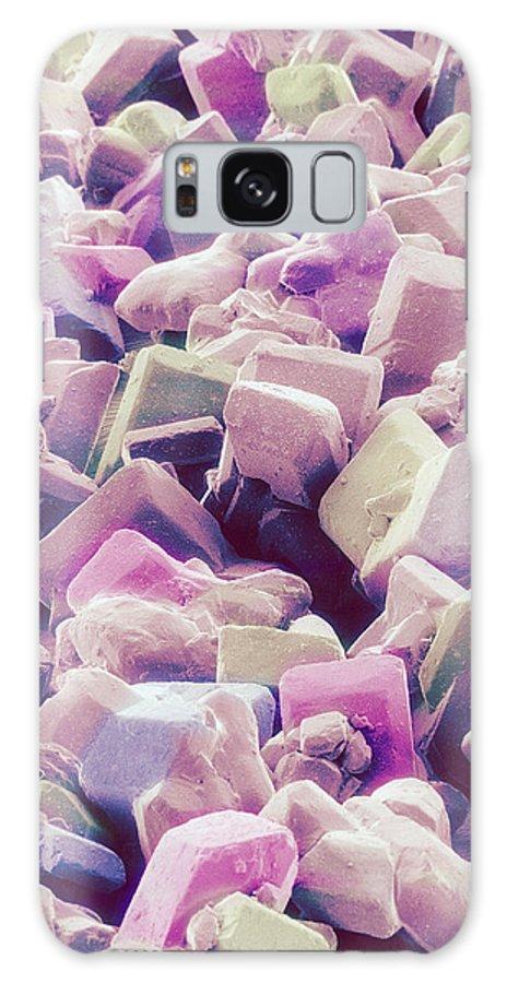 Food Galaxy S8 Case featuring the photograph Sugar Crystals, Sem by Susumu Nishinaga