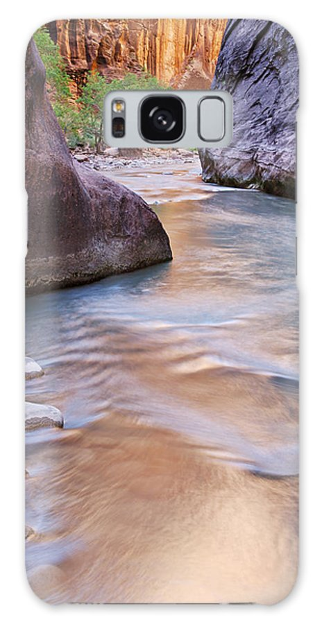Blue Galaxy S8 Case featuring the photograph Virgin River Narrows by Dean Pennala