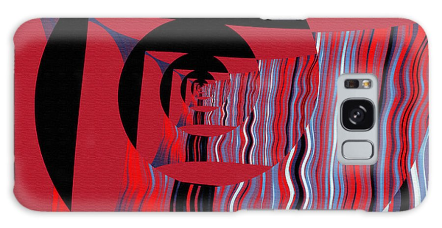 Galaxy S8 Case featuring the digital art Twirling by Mihaela Stancu
