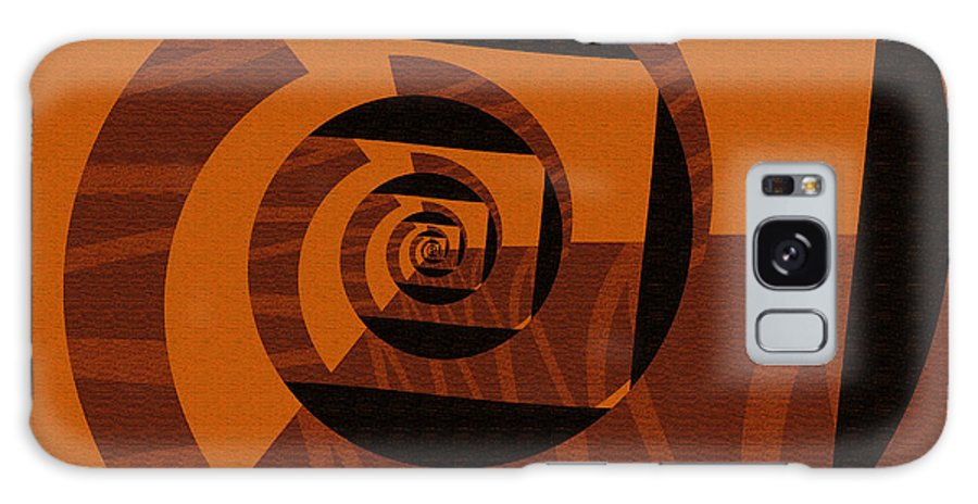 Galaxy S8 Case featuring the digital art Decoupage by Mihaela Stancu