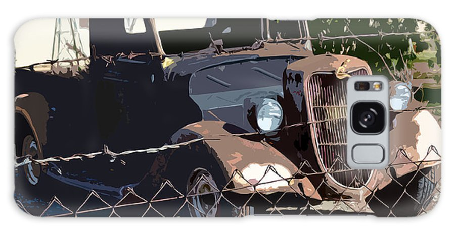 1936 Ford. Paintography Galaxy S8 Case featuring the photograph '36 Ford by Bill Owen