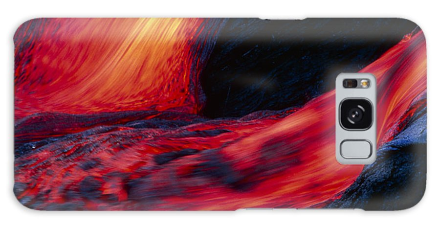 Molten Galaxy S8 Case featuring the photograph Lava Flow by G. Brad Lewis