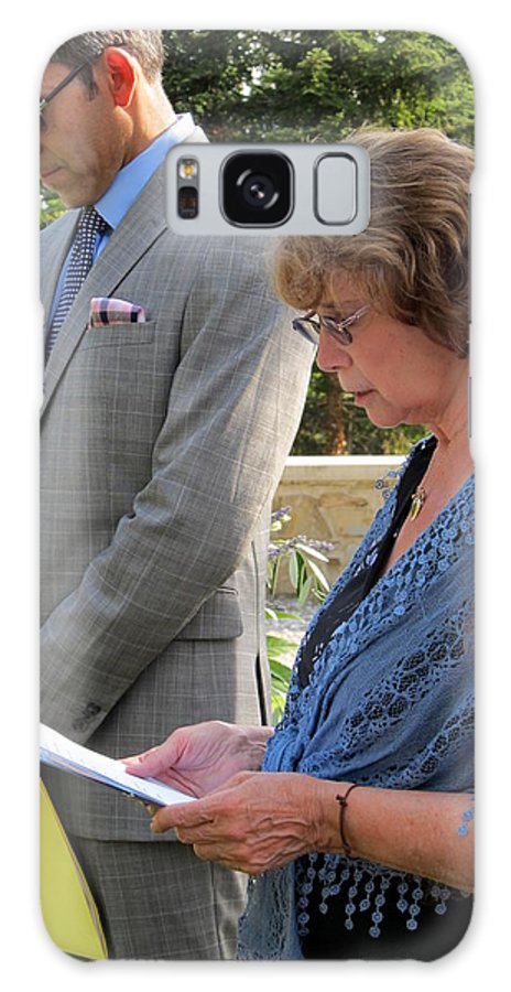 Sharon And Brandon Wedding Galaxy S8 Case featuring the photograph 37 by Randy Wehner Photography