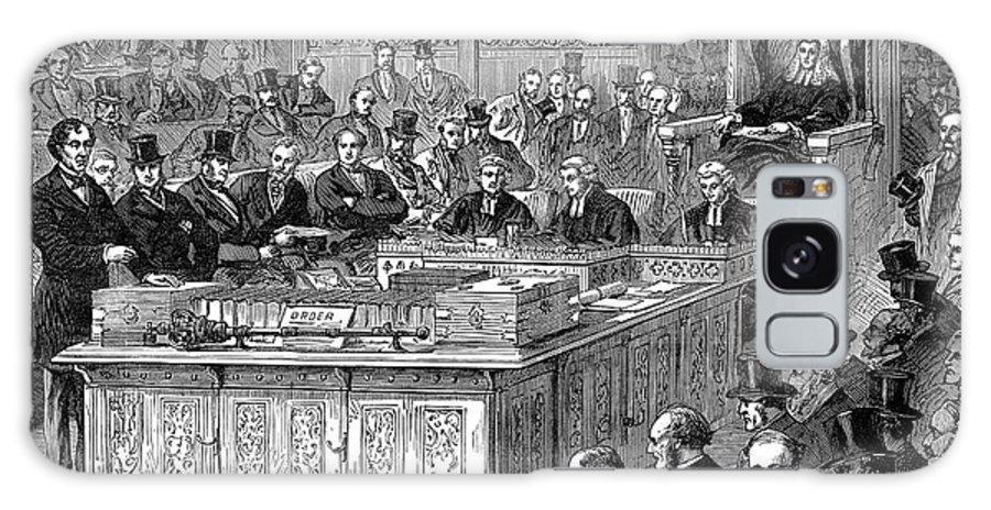 1867 Galaxy S8 Case featuring the photograph Benjamin Disraeli (1804-1881) by Granger
