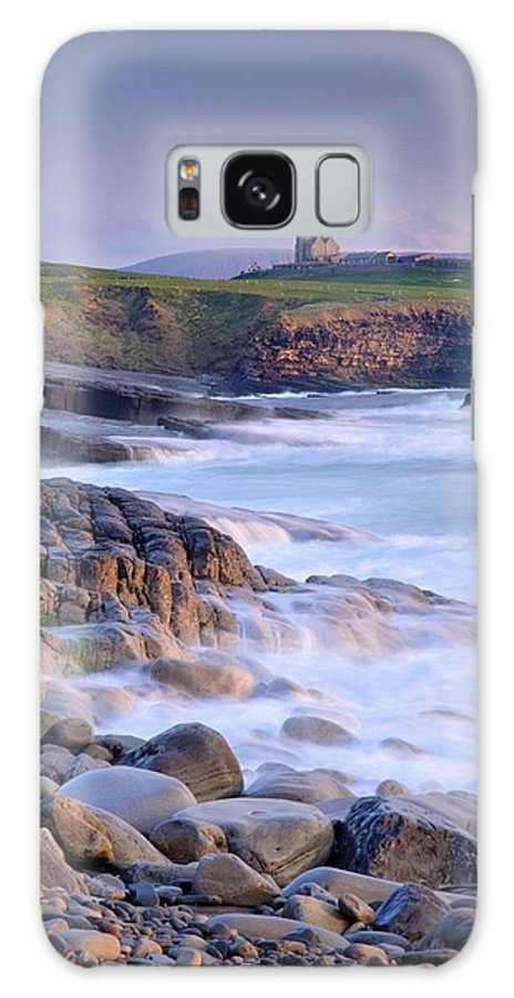 Day Galaxy S8 Case featuring the photograph Classiebawn Castle, Mullaghmore, Co by Gareth McCormack