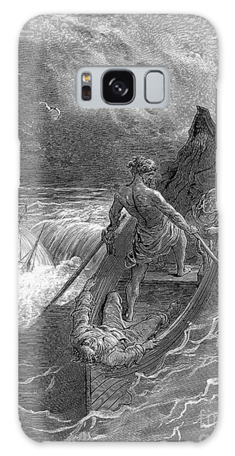 19th Century Galaxy S8 Case featuring the photograph Coleridge: Ancient Mariner by Granger