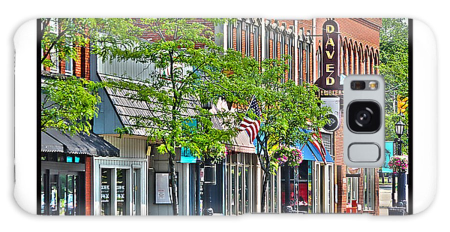 Downtown Willoughby Ohio Galaxy S8 Case featuring the photograph Downtown Willoughby by Jack Schultz