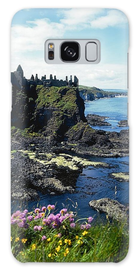 Archeological Site Galaxy S8 Case featuring the photograph Dunluce Castle, Co Antrim, Ireland by The Irish Image Collection