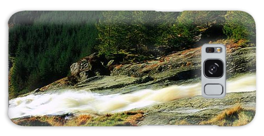 Co Wicklow Galaxy S8 Case featuring the photograph Glenmacnass Waterfall, Co Wicklow by The Irish Image Collection