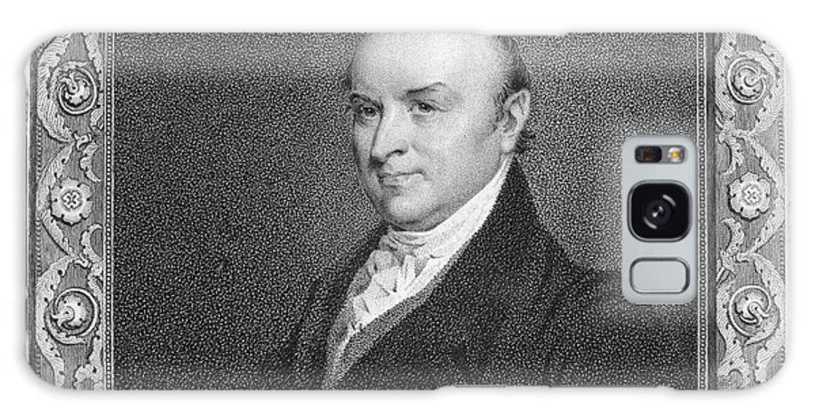 19th Century Galaxy S8 Case featuring the photograph John Quincy Adams by Granger