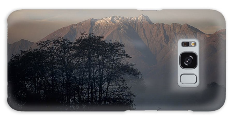 Trees Galaxy S8 Case featuring the photograph Snow-capped Mountain by Mats Silvan