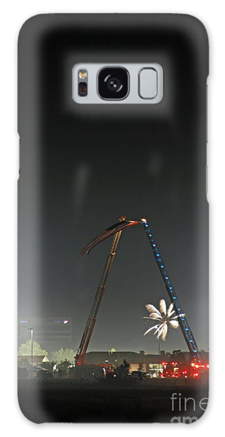 Flag Galaxy S8 Case featuring the photograph 4th Of July by Shawn Naranjo