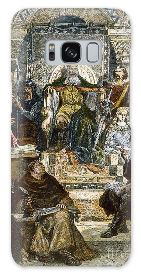 8th Century Galaxy S8 Case featuring the photograph Charlemagne (742-814) by Granger