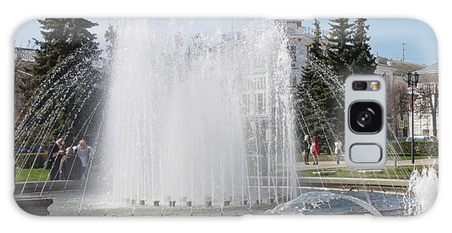Fountain Galaxy S8 Case featuring the photograph Fountain by Evgeny Pisarev