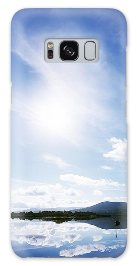Blue Sky Galaxy S8 Case featuring the photograph Kenmare Bay, Dunkerron Islands, Co by The Irish Image Collection