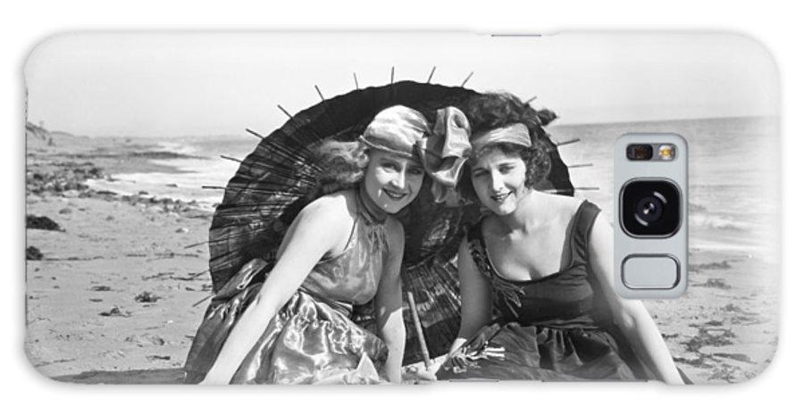 -beaches- Galaxy S8 Case featuring the photograph Silent Still: Beach by Granger