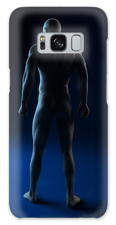 Artwork Galaxy S8 Case featuring the photograph Male Anatomy, Artwork by Sciepro