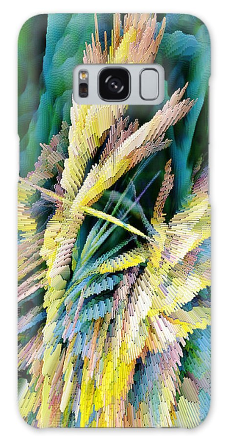 Extrude Galaxy S8 Case featuring the photograph Grass In Bright Sunlight by Werner Lehmann