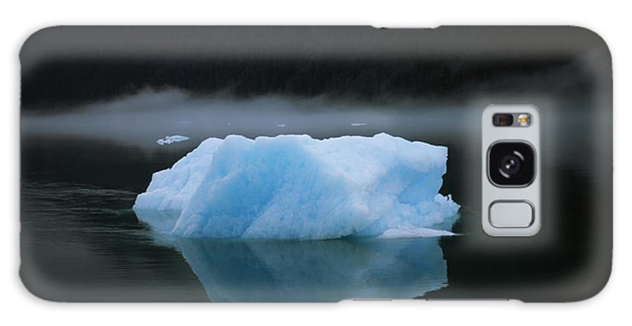 Water Galaxy S8 Case featuring the photograph A Blue Iceberg And Its Reflection by Ralph Lee Hopkins