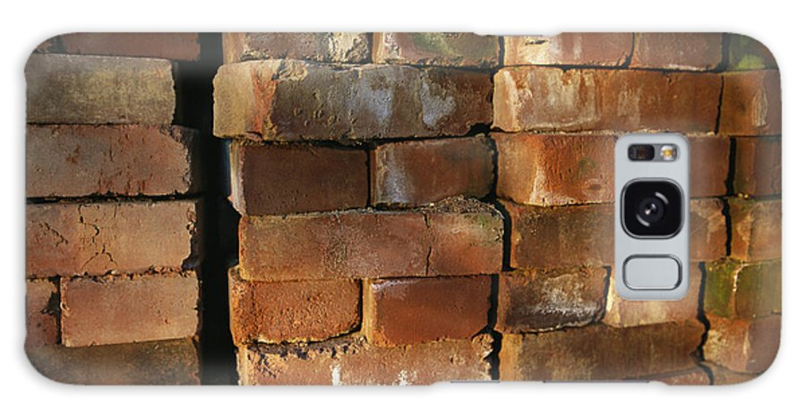 Masonry Galaxy S8 Case featuring the photograph A Stack Of Bricks by Joel Sartore