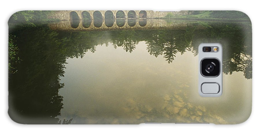 Civilian Conservation Corps Galaxy S8 Case featuring the photograph A Stone Bridge Built By The Civilian by Stephen Alvarez