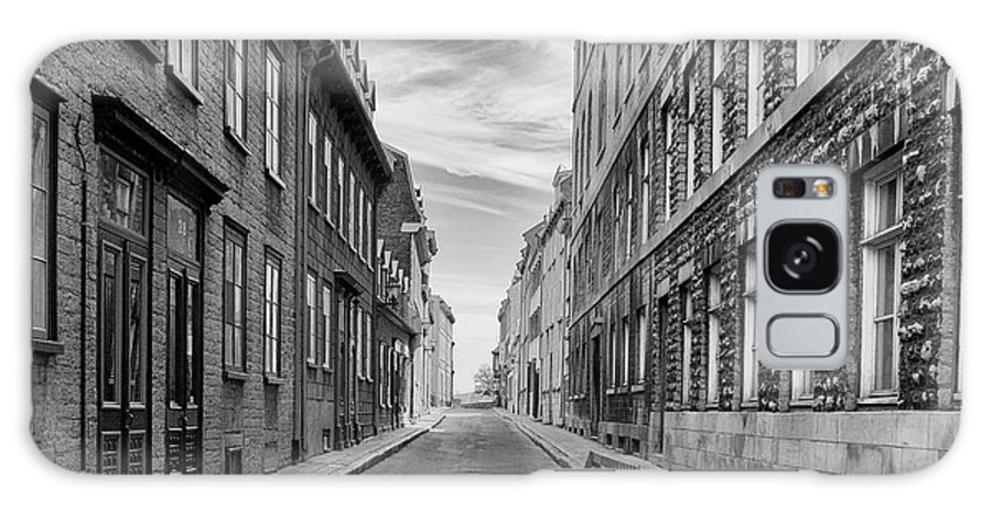 Street Galaxy S8 Case featuring the photograph Abandoned Street by Eunice Gibb