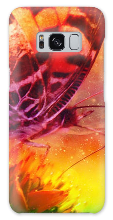 Butterfly Galaxy S8 Case featuring the photograph Above And Beyond by Linda Sannuti