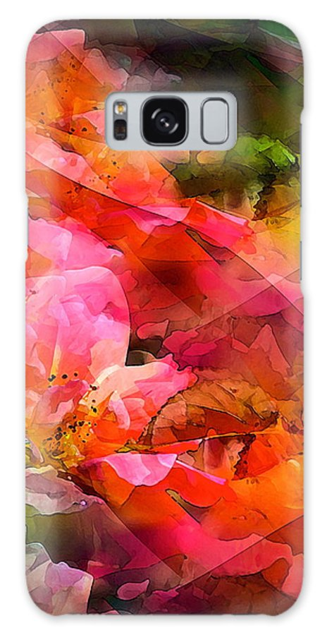 Abstract Galaxy S8 Case featuring the photograph Abstract 273 by Pamela Cooper
