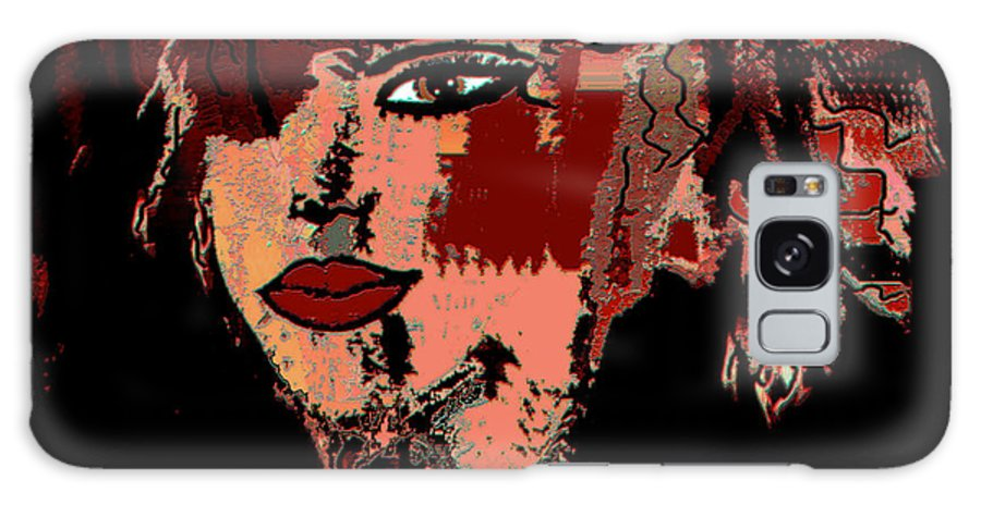 Abstract Beauty Galaxy S8 Case featuring the mixed media Abstract Beauty by Natalie Holland