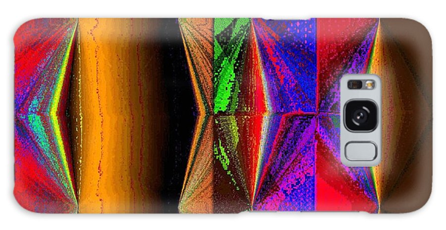 Abstract Fusion Galaxy S8 Case featuring the digital art Abstract Fusion 87 by Will Borden