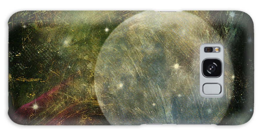 Moon Galaxy S8 Case featuring the photograph Abstract Moon by Billie-Jo Miller