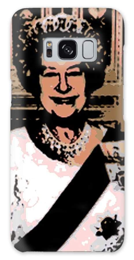 Queen Galaxy S8 Case featuring the photograph Abstract Portrait Of A Queen by George Pedro