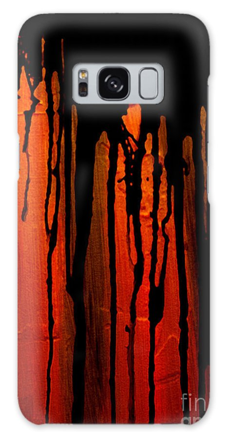 Acid Rain Galaxy S8 Case featuring the painting Acid Rain by Bruce Stanfield