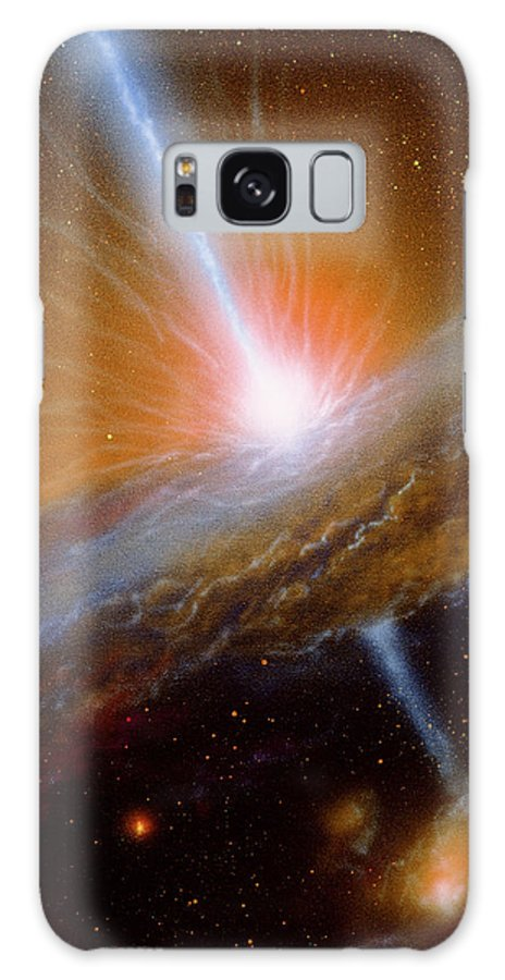 M87 Galaxy S8 Case featuring the photograph Active Galaxy M87 by Julian Baum