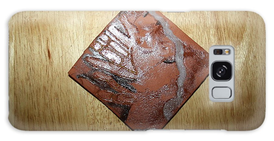 Jesus Galaxy S8 Case featuring the ceramic art Adele - Tile by Gloria Ssali