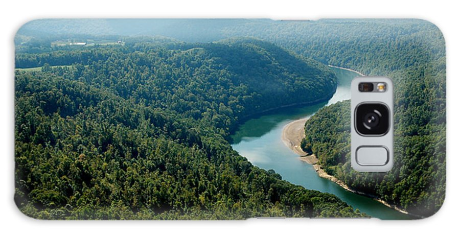 Usa Galaxy S8 Case featuring the photograph Aerial View Gauley River by Thomas R Fletcher