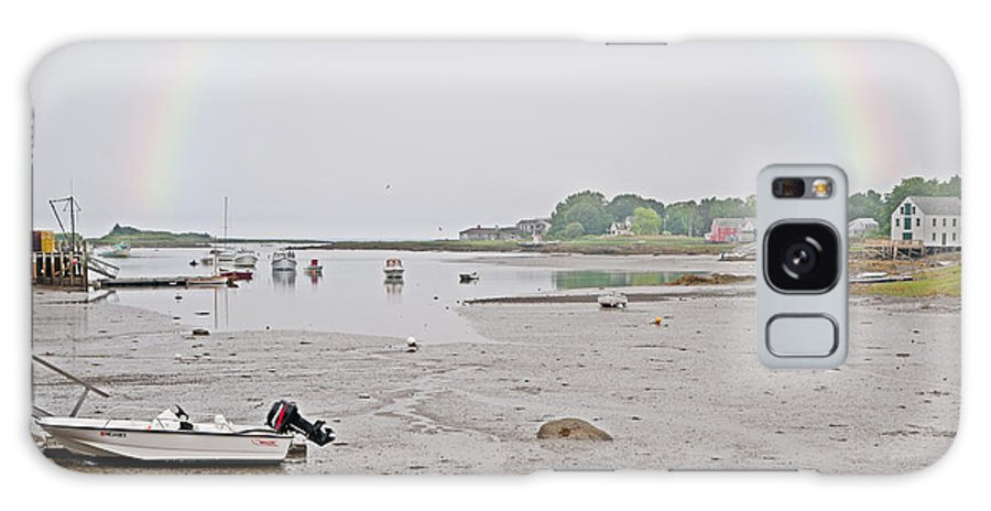Kennebunkport Galaxy S8 Case featuring the photograph After The Rain Kennebunkport Maine by Anne Kitzman