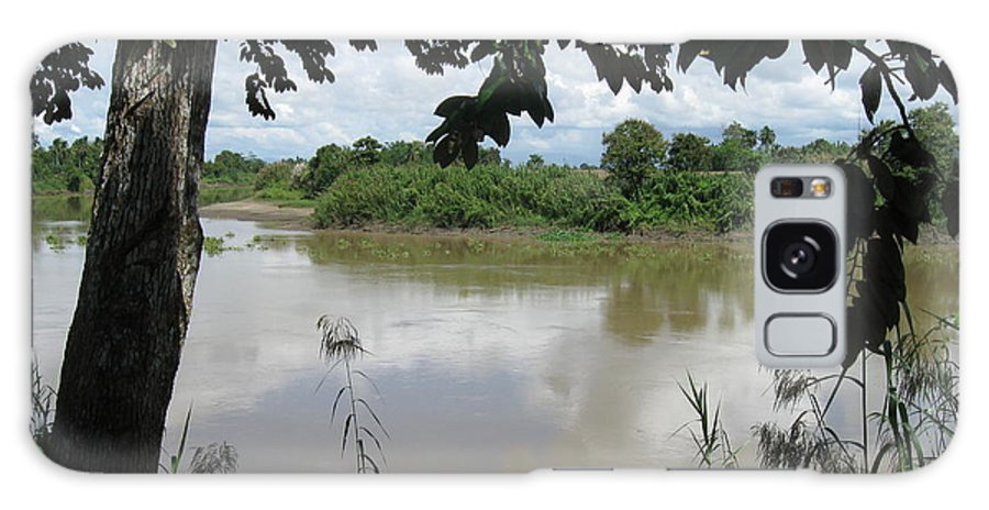 Photograph Galaxy S8 Case featuring the photograph Agusan River Near Ja Pao by Roberto Prusso