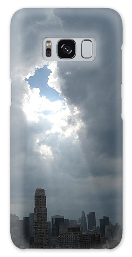 Sun Rays Galaxy S8 Case featuring the photograph Ahhhh by Catie Canetti