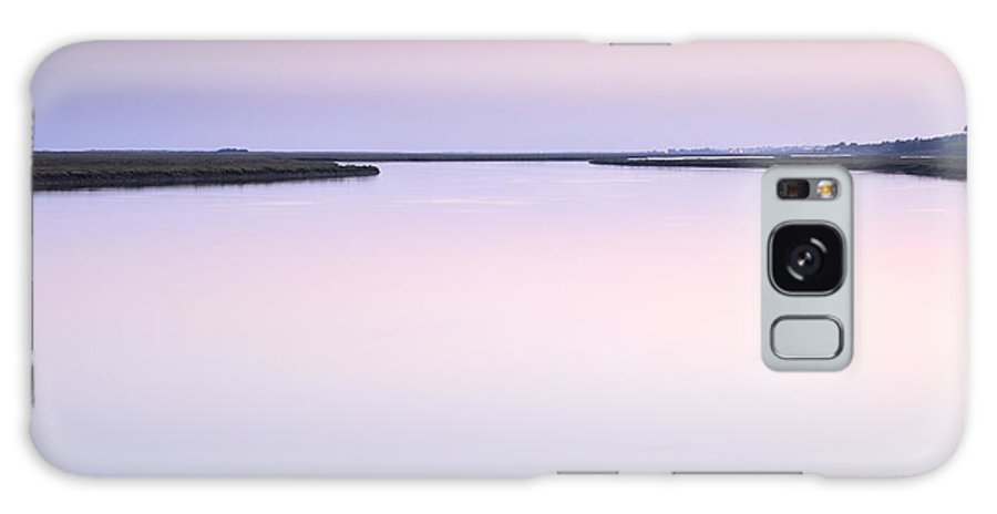 Sunset Galaxy S8 Case featuring the photograph Algarve Portugal by Guido Montanes Castillo