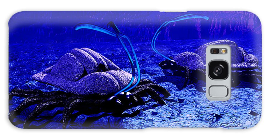 Invertebrate Galaxy S8 Case featuring the photograph Alien Life Form, Artwork by Christian Darkin