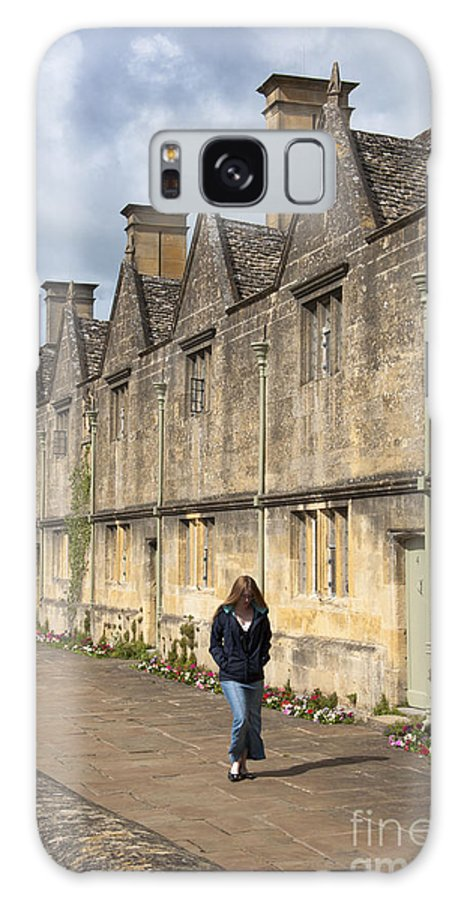 Chipping Campden Galaxy S8 Case featuring the photograph Almshouses by Andrew Michael