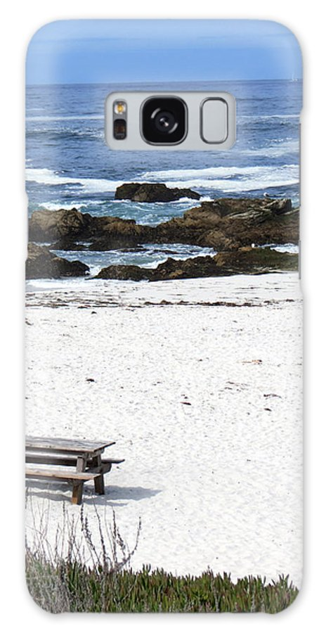 Beach Galaxy S8 Case featuring the photograph Alone by Diane Wood