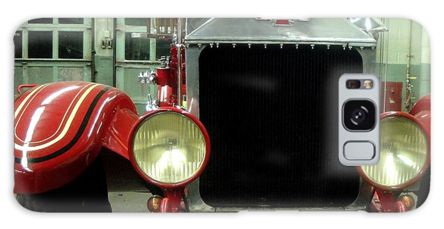Fire Galaxy S8 Case featuring the photograph American Lafrance Fire Truck by Kevin Fortier