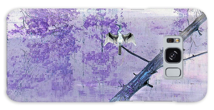 Anhinga Galaxy S8 Case featuring the photograph Anhinga Japanese Style by Suzanne Gaff
